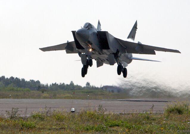 Caça russo MiG-31 Foxhound