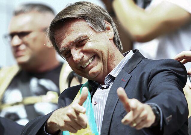Deputado Federal Jair Bolsonaro (PSL-RJ), um dos principais nomes da chamada bancada da bala no Congresso