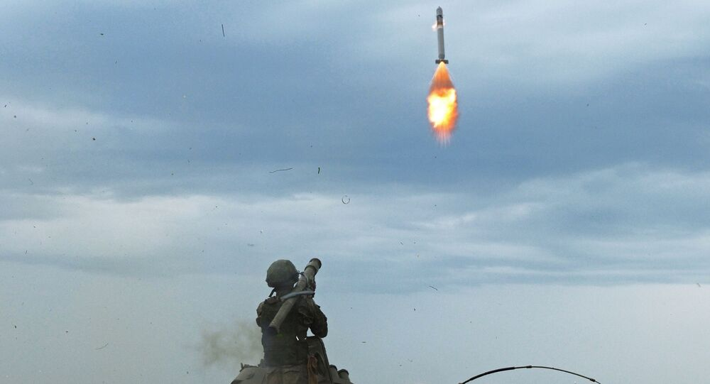 Lançamento de um míssil a partir do sistema Igla (foto de arquivo)