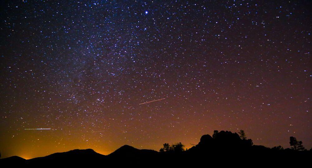 Céu noturno (imagem ilustrativa)