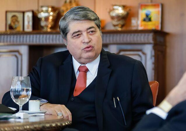 Apresentador e jornalista José Luiz Datena