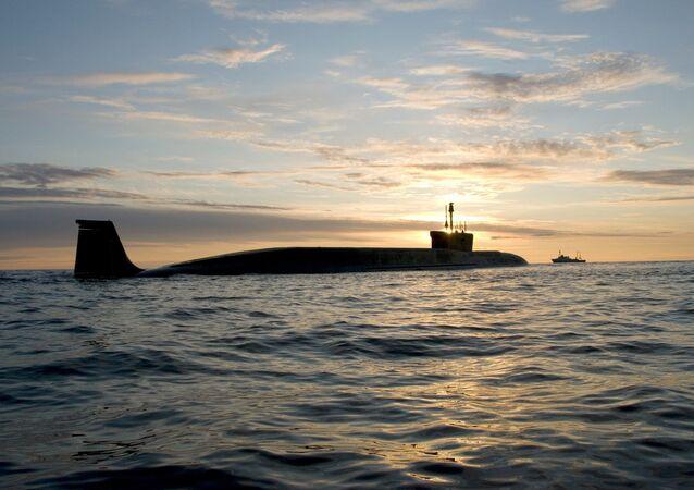 Submarino nuclear russo da classe Borey Yuri Dolgoruky