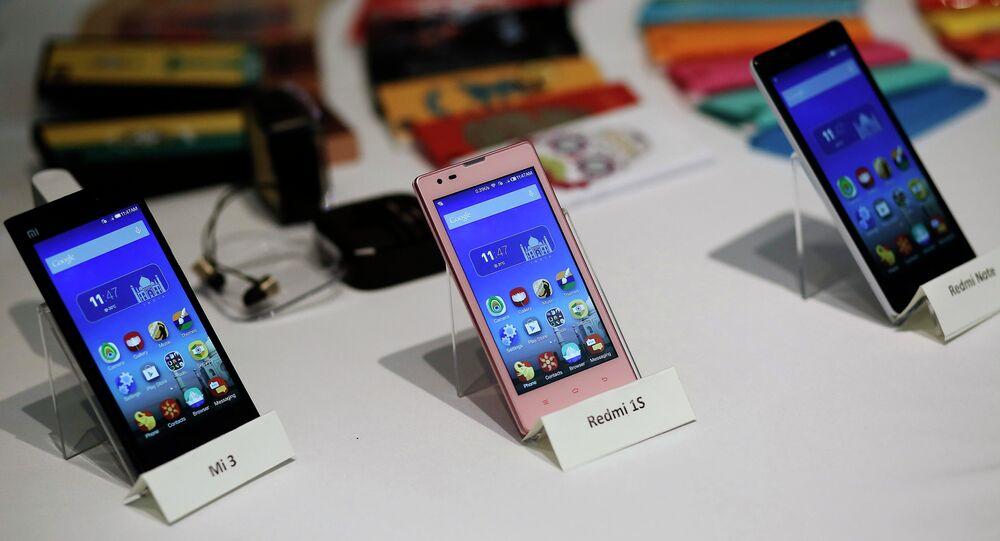 Smartphones Xiaomi (foto do arquivo)