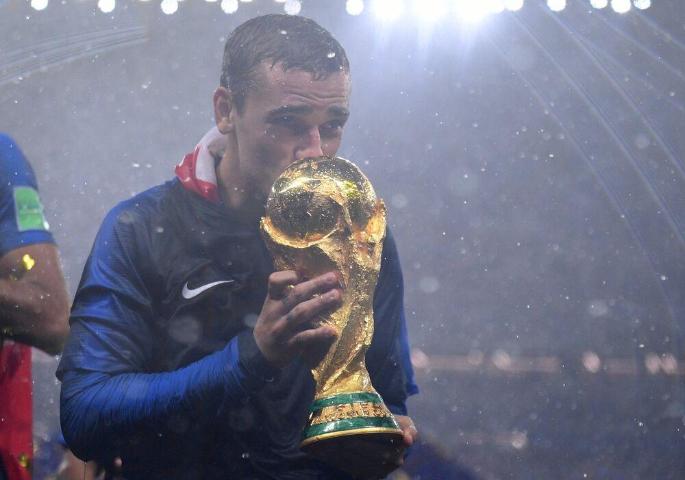 Antoine Griezmann, um dos destaques da França na Copa do Mundo FIFA 2018