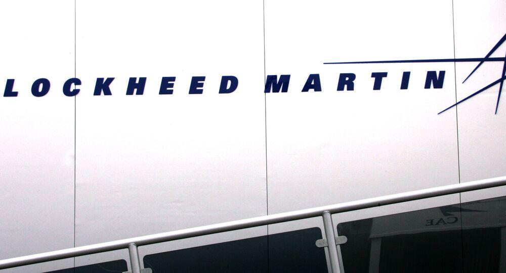 Logotipo do grupo norte-americano Lockheed Martin (imagem de arquivo)