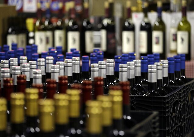 Garrafas de vinho (foto de arquivo)