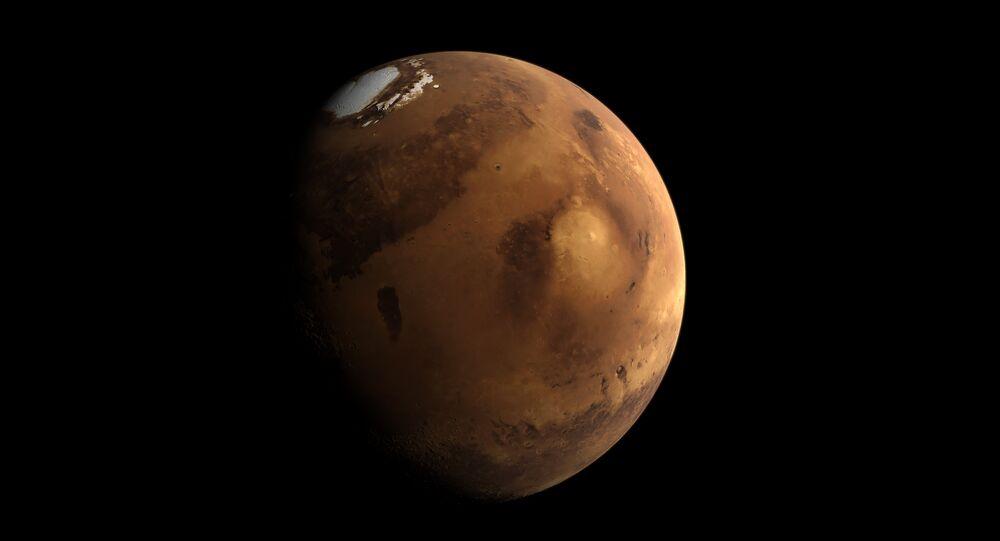 Marte (foto de arquivo)