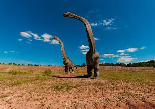 Braquiossauro (imagem ilustrativa)