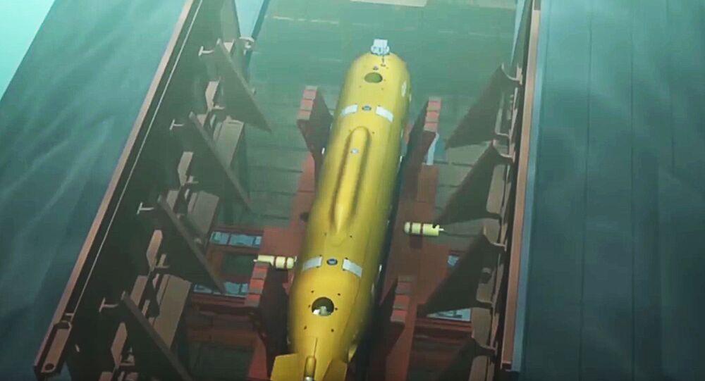 Drone subaquático Poseidon