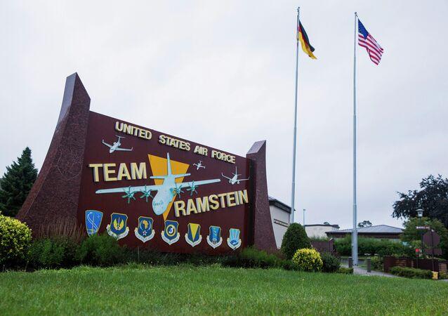 Base norte-americana de Ramstein, na Alemanha