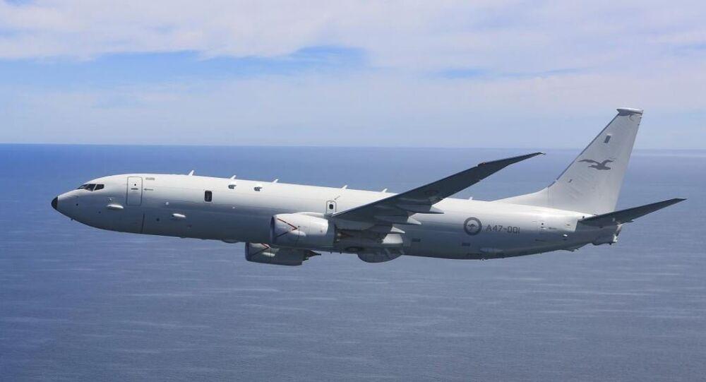 Avião P-8 Poseidon da Força Aérea Real australiana
