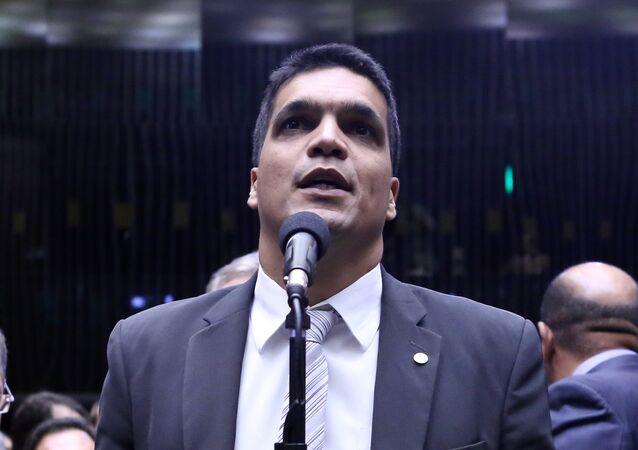 Cabo Daciolo em sessão da Câmara dos Deputados.