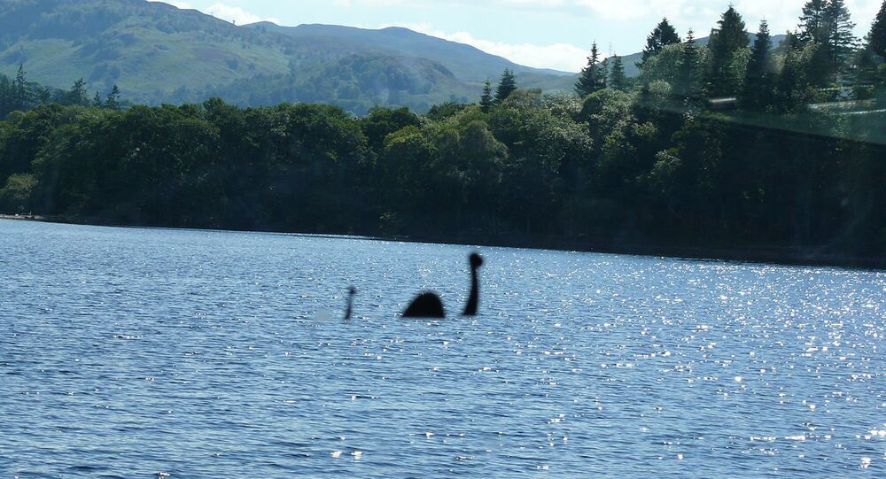 Monstro do lago Ness (imagem referencial)