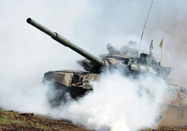 O tanque T-72 (imagem referencial)