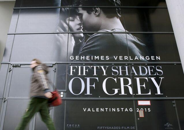 Cartaz do filme 50 tons de cinza