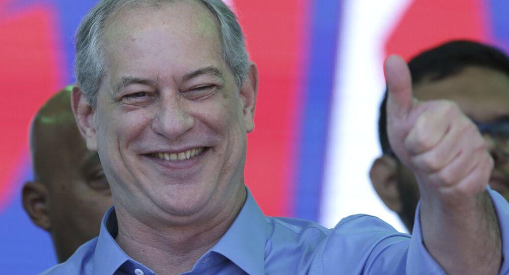 Candidato à presidência nas eleições 2018, Ciro Gomes