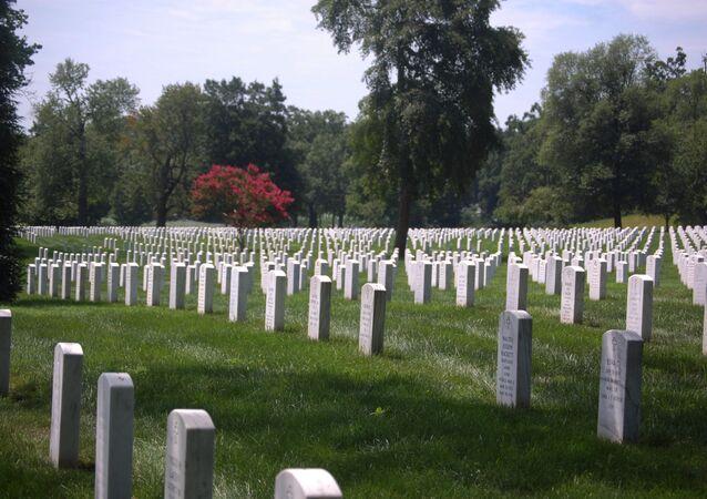 Cemitério de Arlington nos EUA
