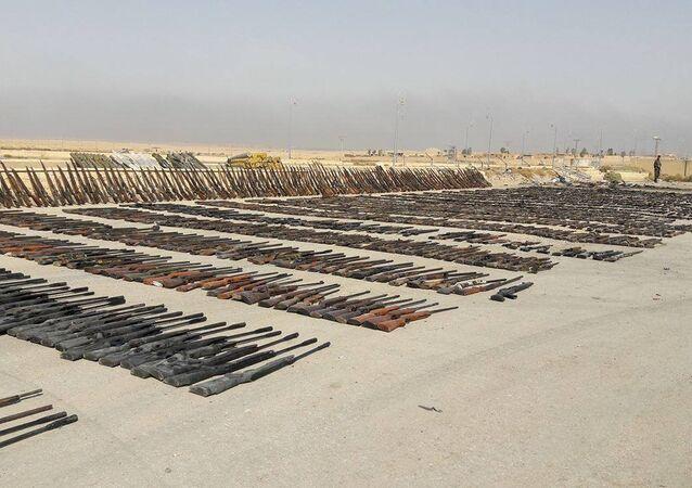 Armas do Daesh (imagem referencial)