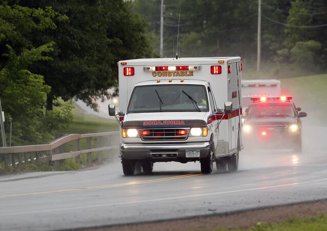 Ambulância nos EUA