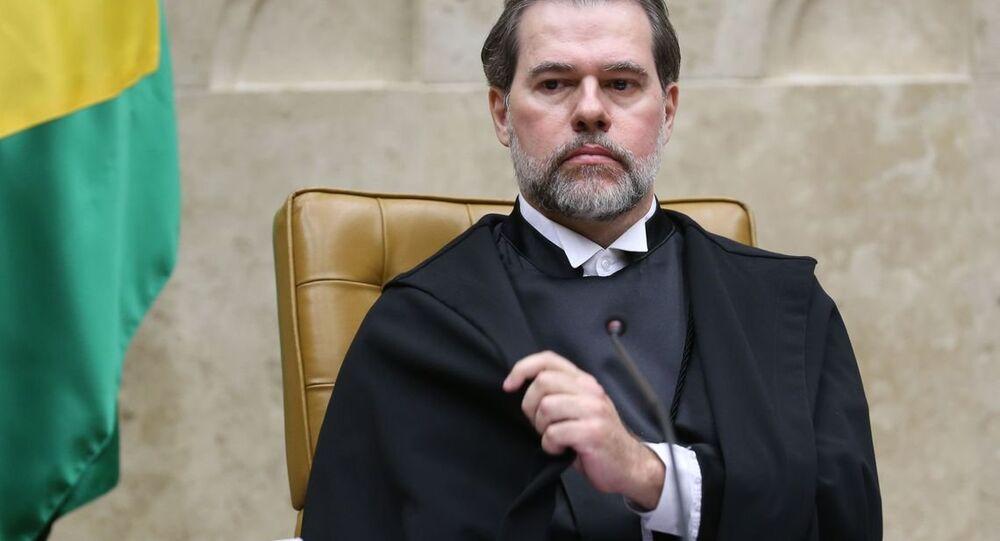 Dias Toffoli toma posse como presidente do Supremo Tribunal Federal (STF).