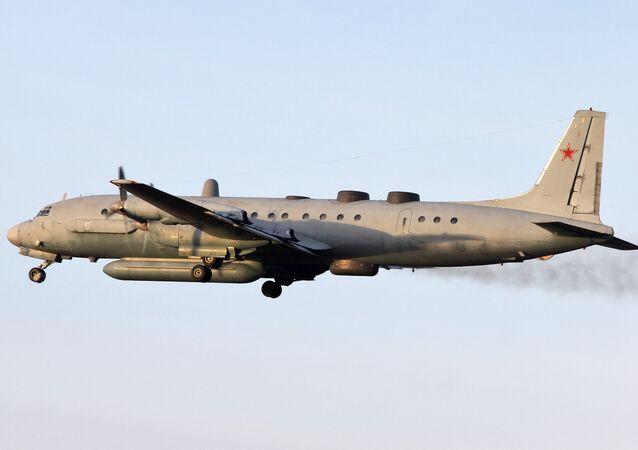 Avião russo Il-20
