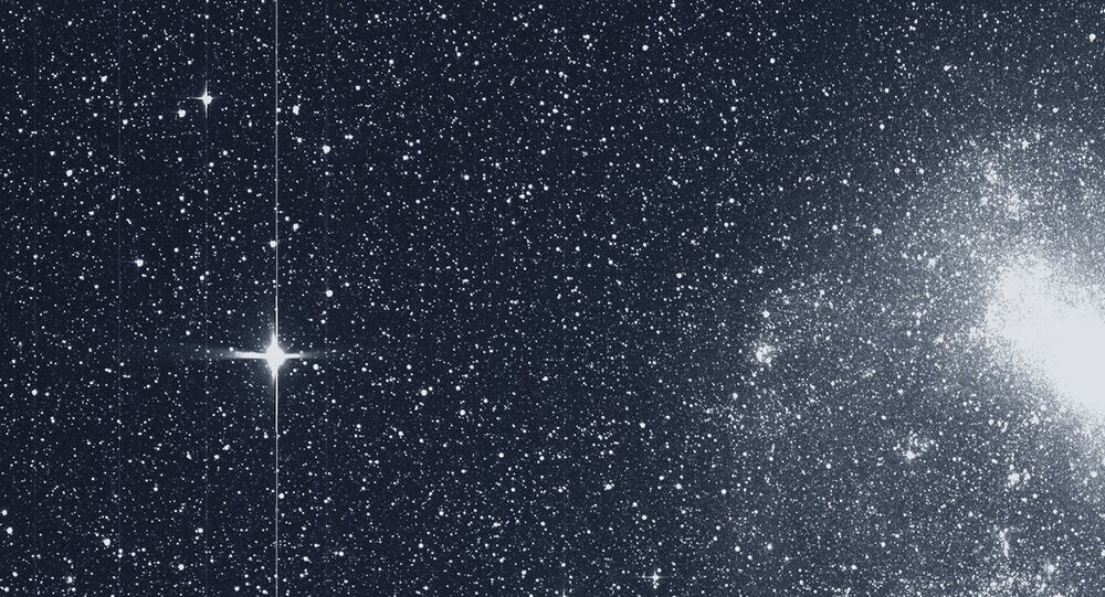 Estrelas gravadas por telescópio TESS