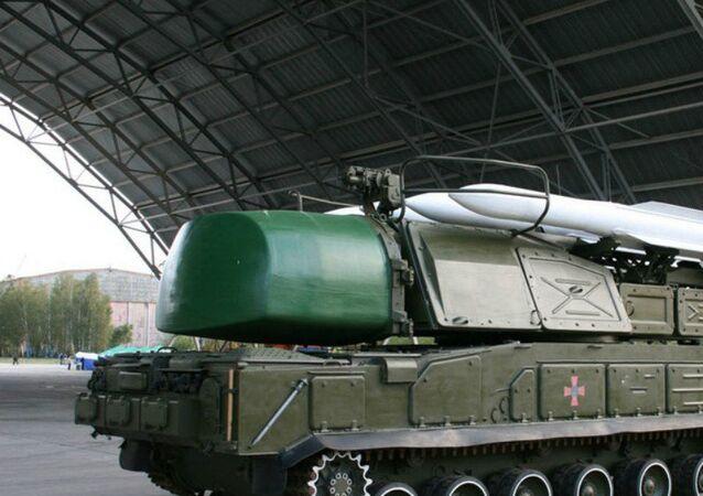 Sistema de mísseis Buk-M1 da Ucrânia