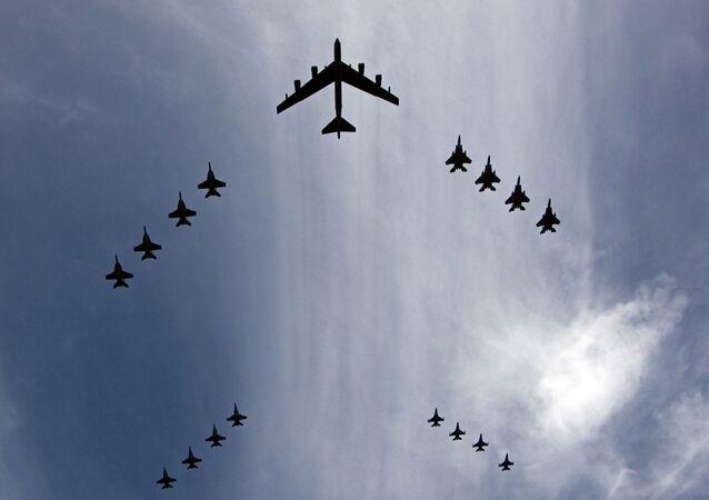 Projeto altamente secreto da empresa Northrop Grumman, irá desenvolver o novo Long Range Strike-Bomber das Forças Armadas dos EUA (imagem de arquivo)