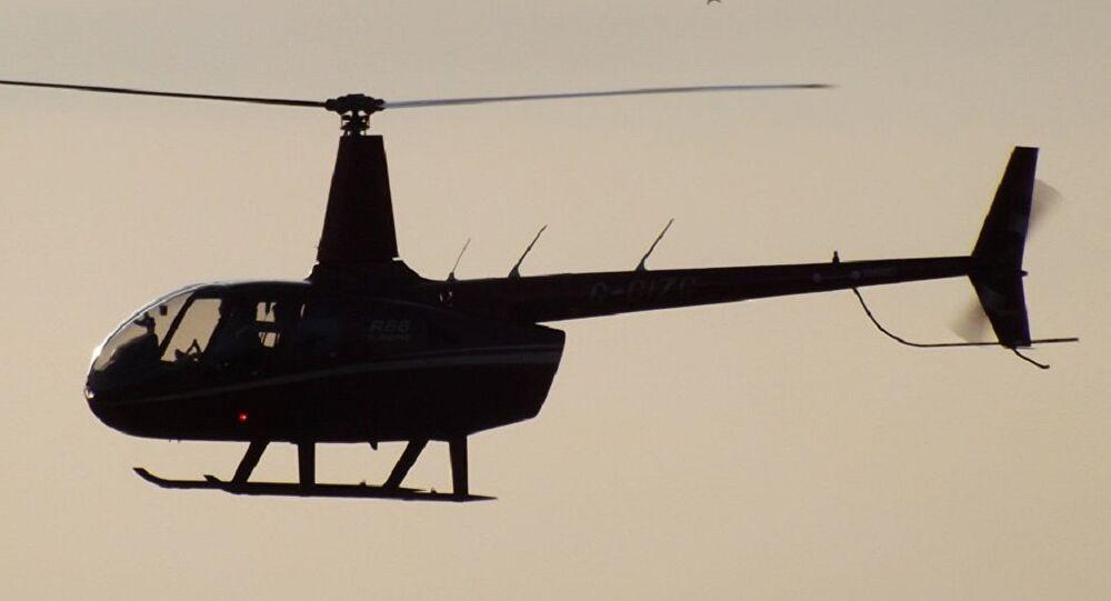 Helicóptero Robinson (imagem referencial)