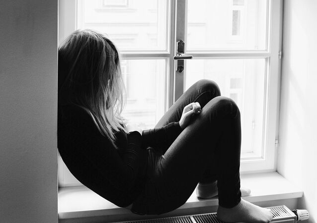 Jovem em depressão (imagem referencial)