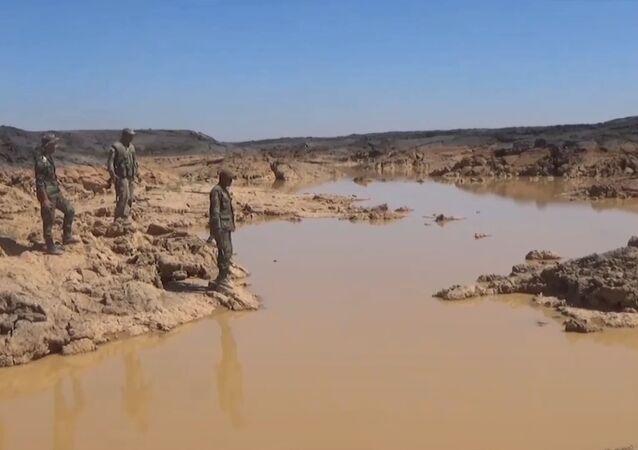 Terroristas sírios já quase não têm água
