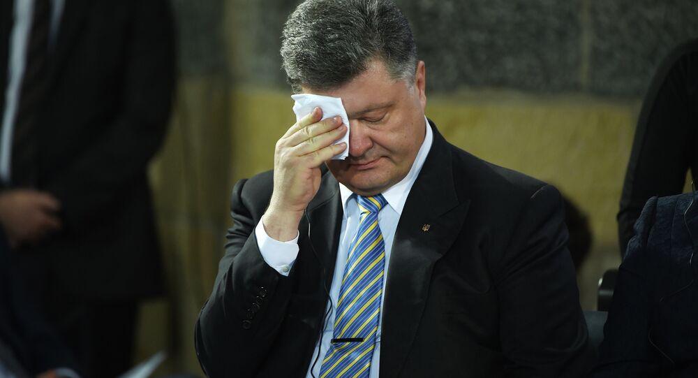 Presidente ucraniano Pyotr Poroshenko (foto de arquivo)