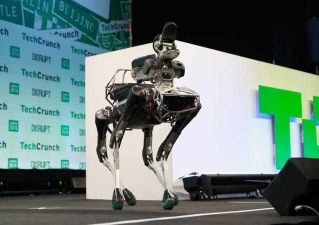 Robô cachorro da Boston Dynamics