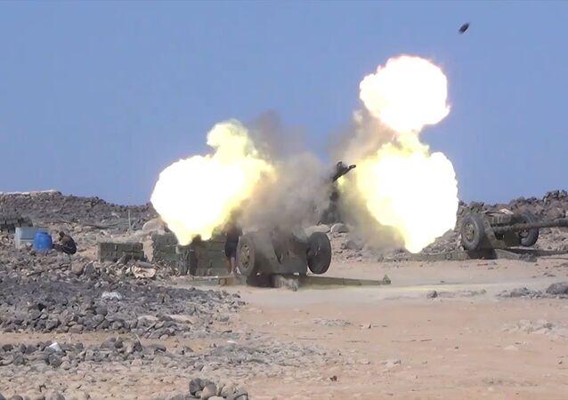 Exército sírio ataca terroristas em Tulul al Safa
