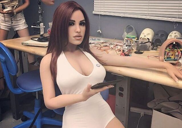 Boneca sexual com inteligência artificial da empresa RealBotix