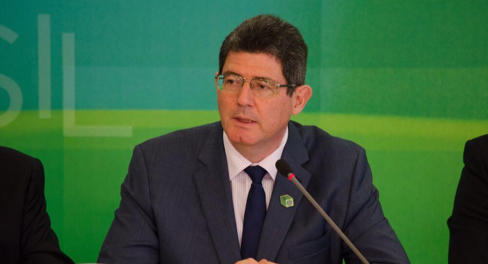 O ministro da Fazenda, Joaquim Levy, em entrevista exclusiva ao Blog do Planalto, após o anúncio da segunda fase do Programa de Investimento em Logística (PIL)