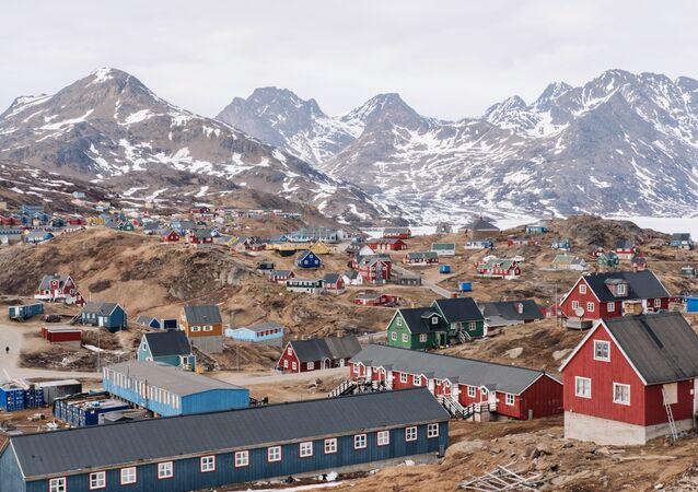 Comunidade de Tasiilaq na Groenlândia (imagem de arquivo)