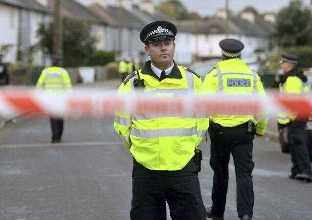 Policiais em Londres (arquivo)