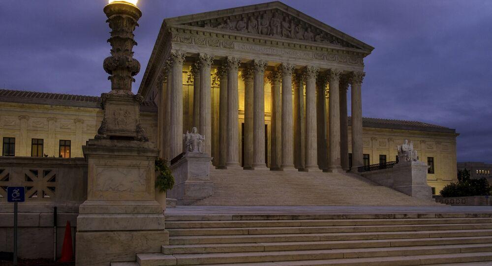 Prédio da Suprema Corte dos EUA.