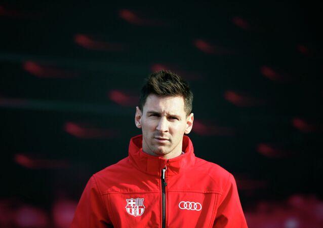 Leo Messi, futbolista del Barça