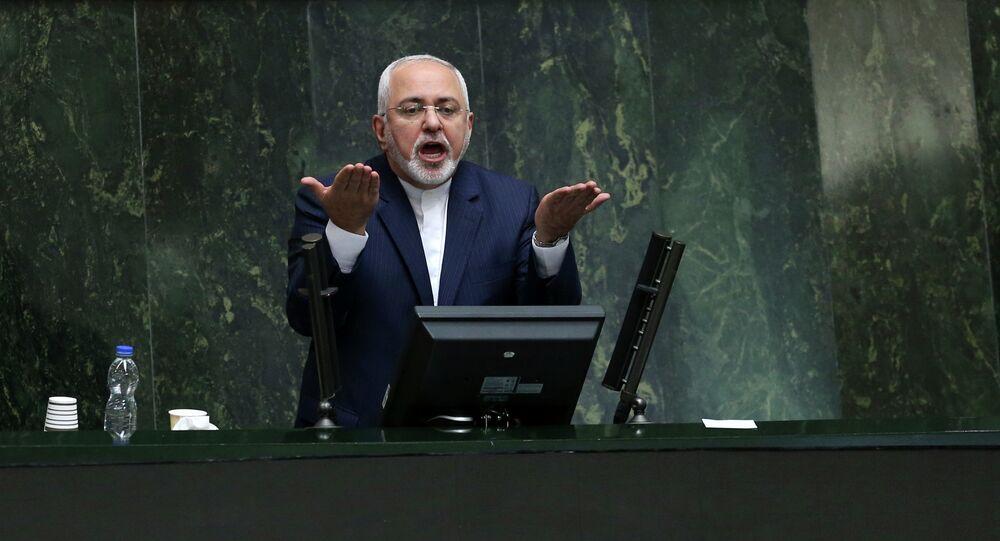 Chanceler do Irã Mohammad Javad Zarif