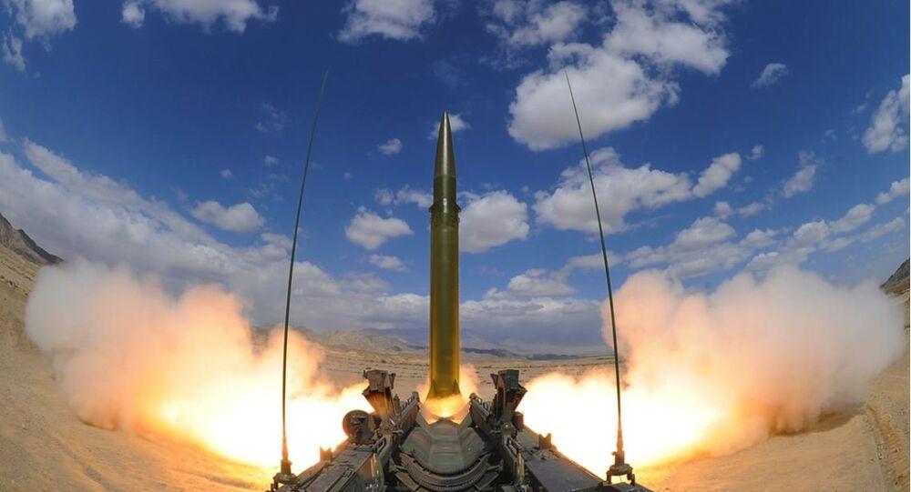 Teste de míssil chinês (imagem do arquivo)