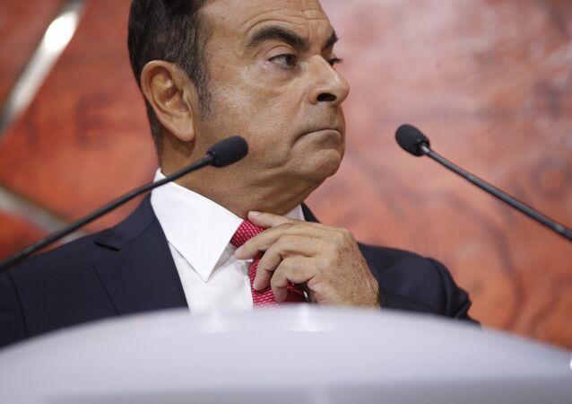 Konzernchef von Renault-Nissan Carlos Ghosn