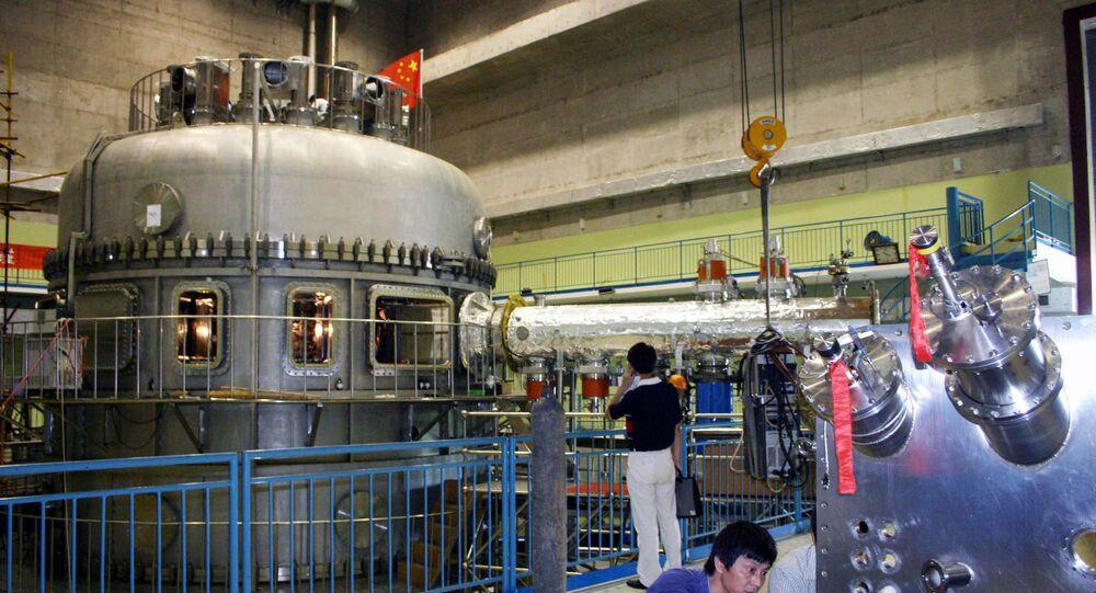 Reator experimental de fusão nuclear chinês EAST