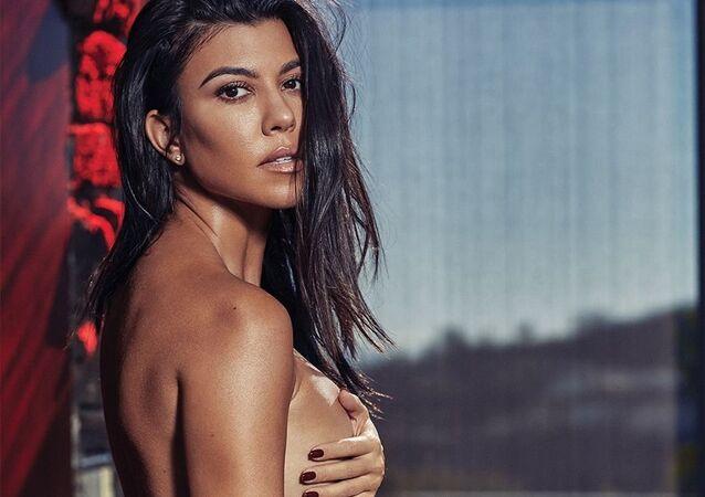 Kourtney Kardashian, celebridade estadunidense
