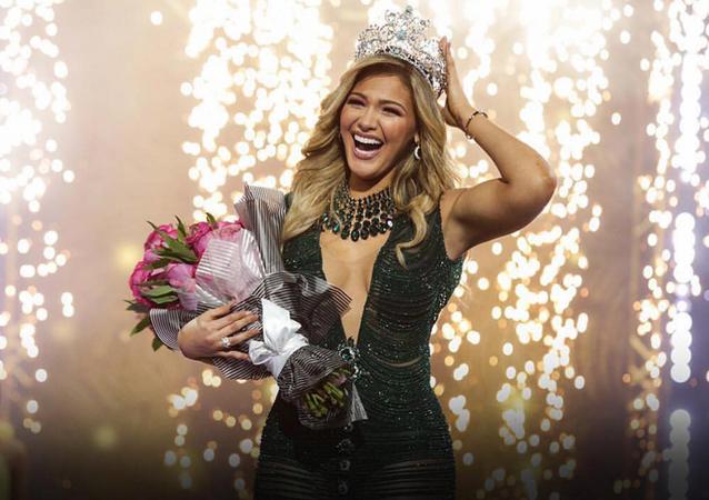 Migbelis Castellanos, vencedora do concurso Nuestra Belleza Latina 2018