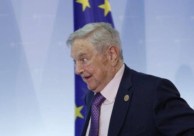 Investidor húngaro-americano George Soros (Arquivo)