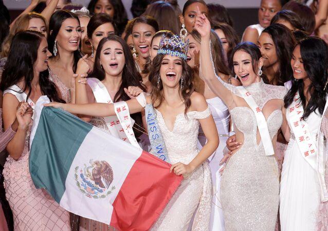 Miss México, Vanessa Ponce de Leon, ganha o concurso Miss Mundo 2018, 8 de dezembro de 2018