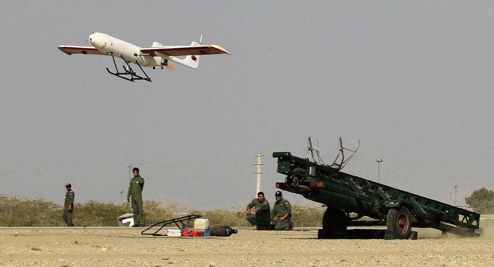 Drone iraniano (imagem referencial)