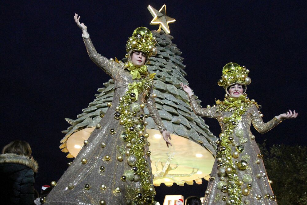 Árvore de Natal no Líbano